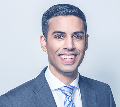 Rajinder Sahota is a partner and personal injury lawyer at Acheson Sweeney Foley Sahota.